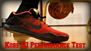 Kobe XI Performance Test