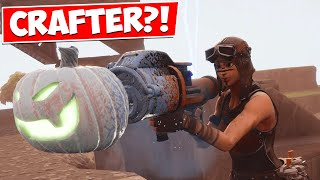 Is There REALLY A WATER JACK O LAUNCHER CRAFTER in Fortnite...
