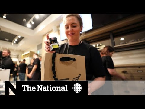 Canada sees first day of cannabis legalization