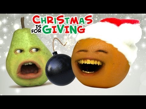 Annoying Orange - Christmas is for Giving