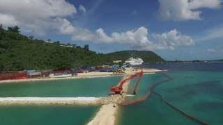 Lapetasi Wharf Construction Port Vila Vanuatu