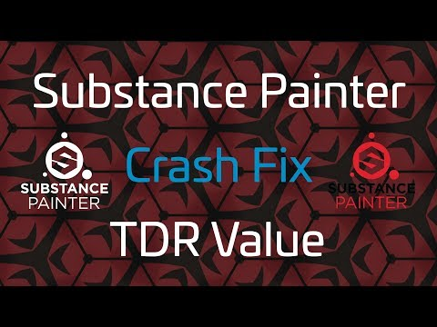 How to Change Substance Painter TDR Value