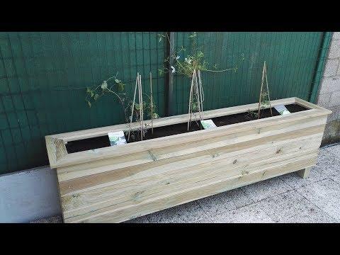 [Mini Tuto] Fabriquer un bac à fleurs en lames de terrasse