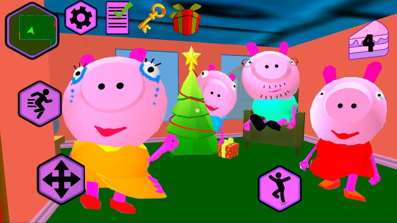 ФИНАЛ СВИНКА СОСЕДЕЙ! обновленная Игра ПИГГИ Свинка Пеппа - Piggy Neighbor