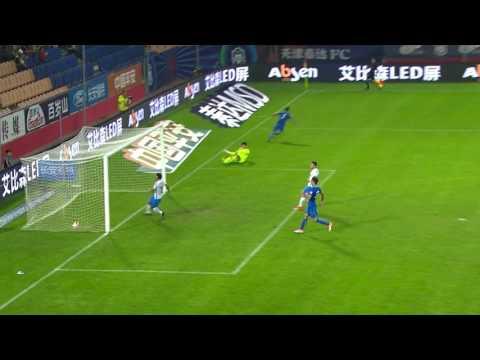 Tianjin TEDA  vs Guangzhou R&F   Goals