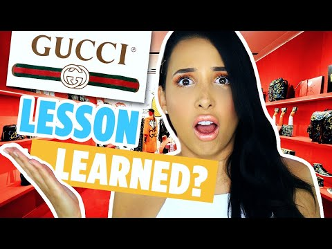 IGNORED BY GUCCI *UPDATE*: WEARING FAKE GUCCI TO THE GUCCI STORE | Mar