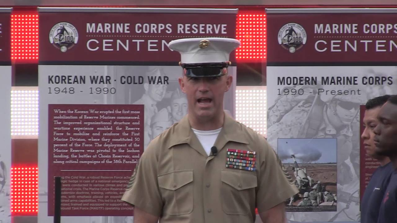 United States Marine Corps Reserve Centennial, Part 1 - YouTube