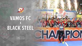 Highlight Final : Black Steel Manokwari Vs Vamos FC Mataram (3(2) -3(0)) : Pro Futsal League 2016