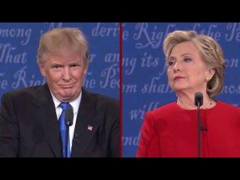 Trump and Clinton spar over trade, NAFTA and TPP