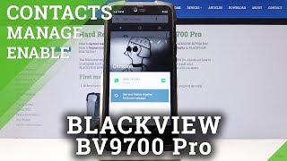 How to Add Photo to Contact in BLACKVIEW BV9700 Pro - Personalize Contact