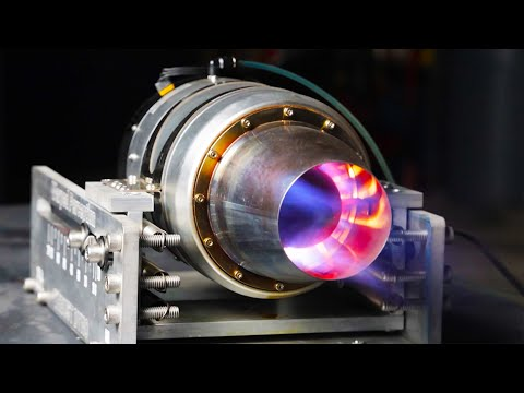 Jet Engine Thrust Test - Fuel Experiment (Jet-A vs Diesel vs BioDiesel vs HydroDiesel)
