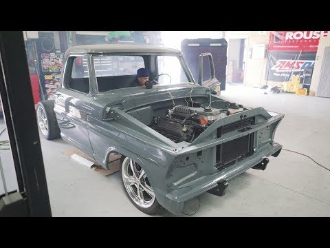 Its Alive, Its ALIVE!!! The Supercharged 68 F100 Lives!