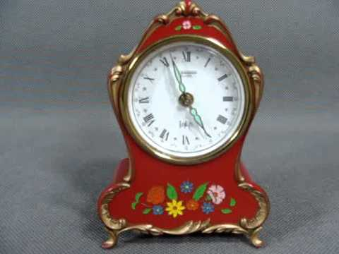 MELODY MUSICAL ALARM CLOCK BLESSING GERMANY 1950