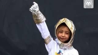 Disfraz Astronauta en Eurekakids