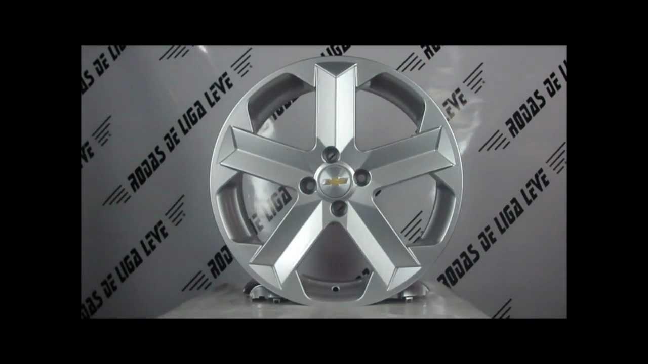 Chevrolet gile sport aro 17 4 furos