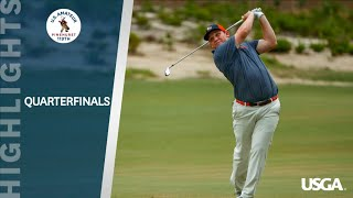 Highlights: 2019 U.S. Amateur Quarterfinals
