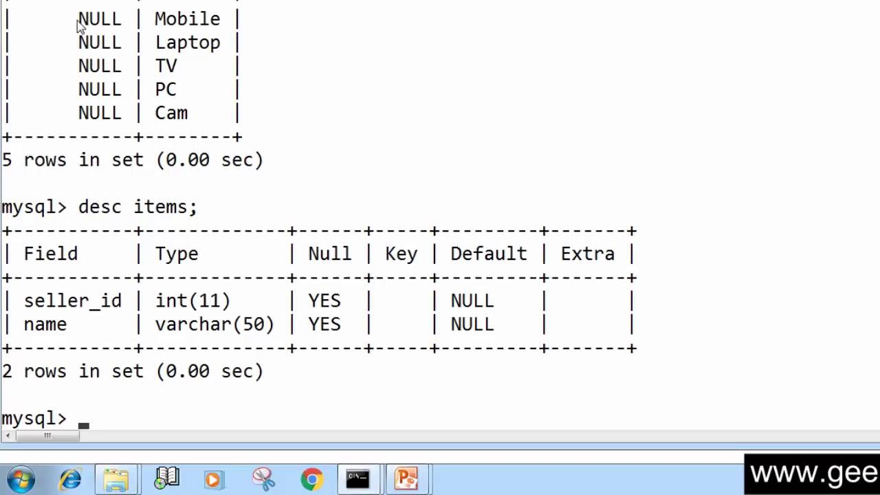 61. ALTER TABLE for Adding Constraint in Column SQL (Hindi) - YouTube