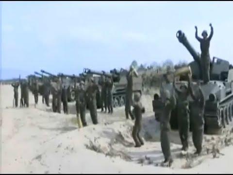 北朝鮮 笑ってはいけない無慈悲な軍事演習