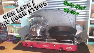 BEST STOVE FOR VANLIFE | CAMP CHEF STOVE REVIEW | VANLIFE
