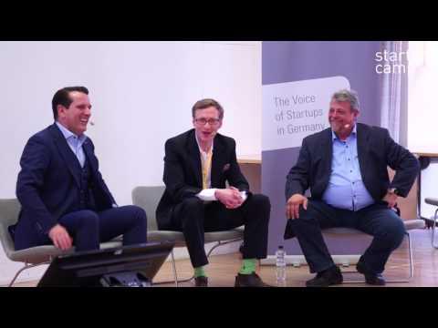 Startup Camp Berlin 2017 - Fireside Chat mit Ralf Duemmel und Karl Heinz Bilz