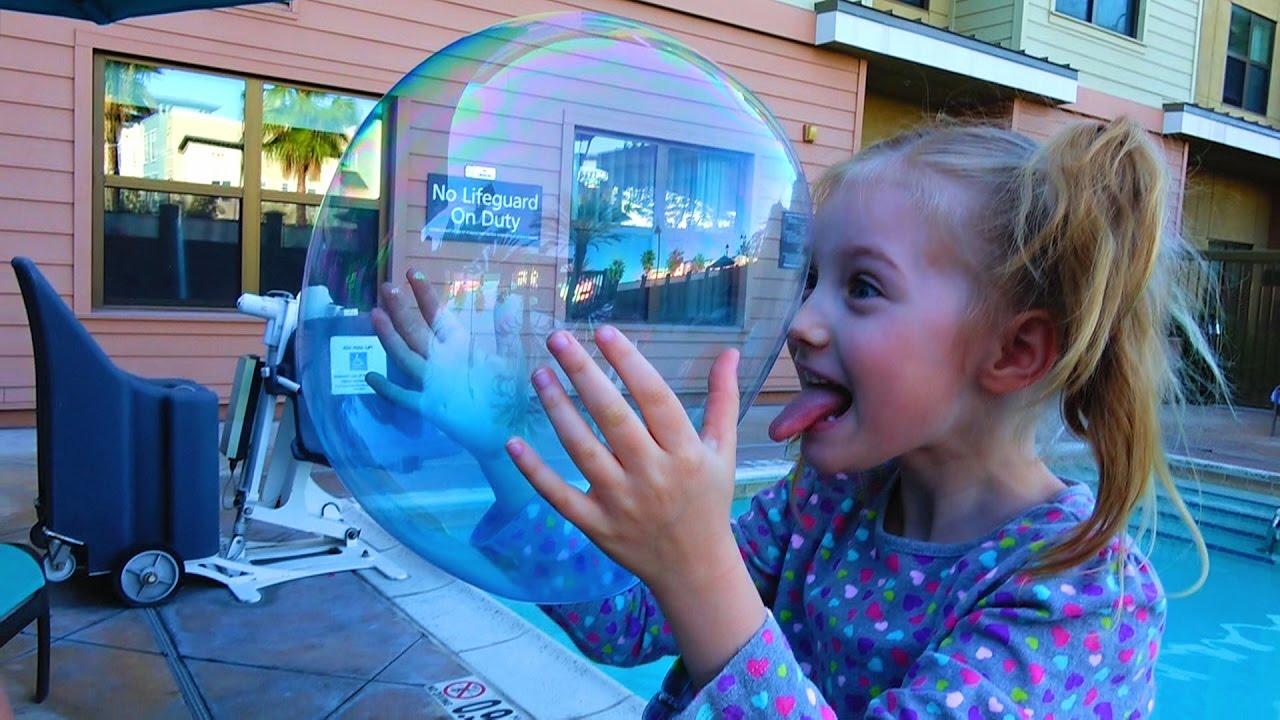 Как сделать большие и прочные мыльные пузыри 3