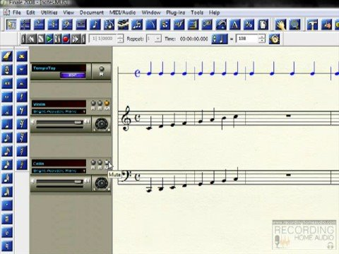 Rudiments of Music Notes on a Staff Part 2