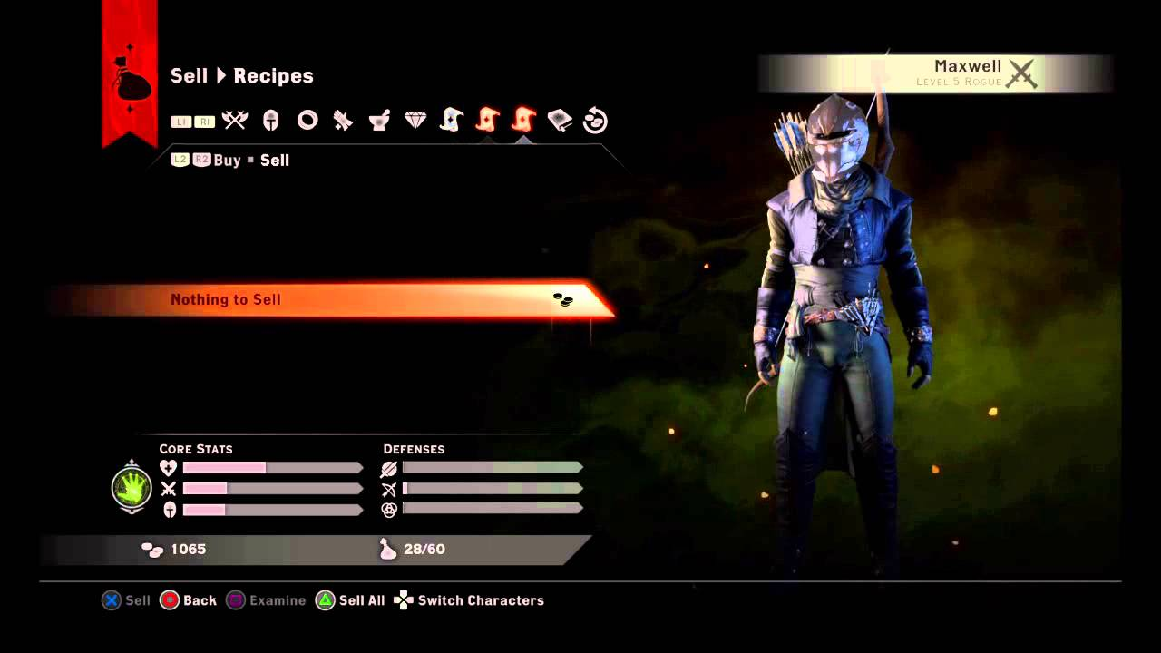 Dragon Age Inquisition Duplicate Crafting Materials