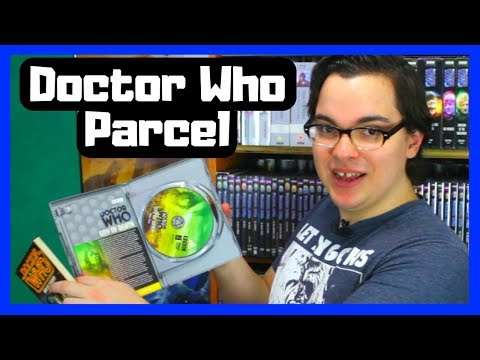 Unboxing A 4th Doctor DVD And 2nd Doctor Book From Leon!