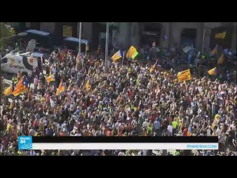 التوتر يزداد في كتالونيا  - نشر قبل 3 ساعة