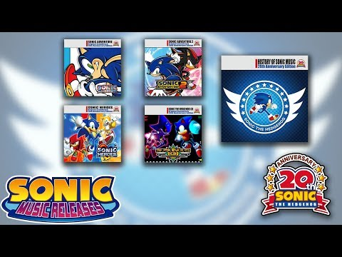 Sonic Music Releases - 20th Anniversary Edition OSTs