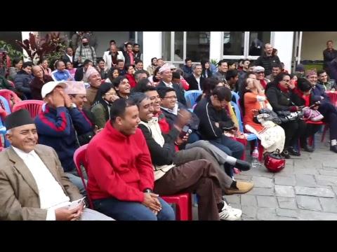 Nepal Literature Festival 2016 - कबिता वाचन