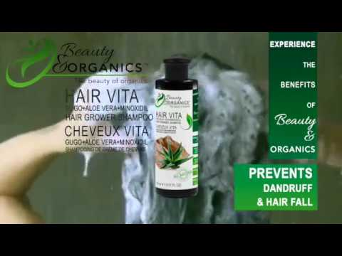 Hair Vita Gugo+AloeVera+Minoxidil Hair Grower Shampoo Premiu