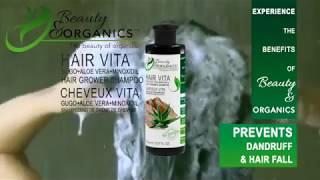 Hair Vita Gugo+AloeVera+Minoxidil Hair Grower Shampoo Premium Organic