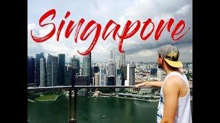 23 часа в городе мечты Сингапуре