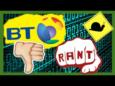 BRITISH TELECOM (BT) SUCK! AWFUL INTERNET SERVICES! - RANT