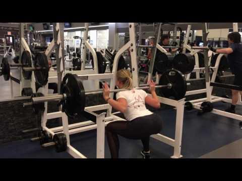 Bikini Comp: 7 Weeks Out, Leg Workout & Pole Routine