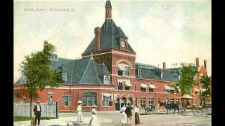 Burlington Iowa from Old Postcards