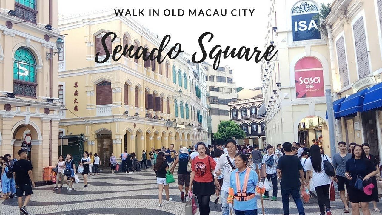 Senado Square Macau Shopping