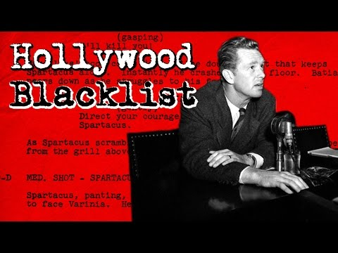 What is the Hollywood Blacklist?