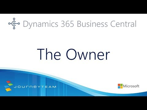 Microsoft Dynamics 365 Business Central for Business Owners