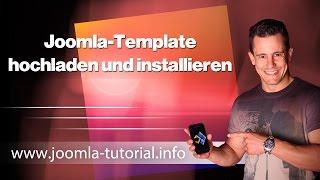 Joomla-Template hochladen und installieren