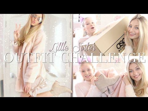OUTFIT CHALLENGE- LITTLE SISTER DOES MY ASOS HAUL! With Coco's World | Freddy My Love