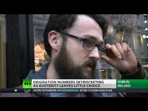 Austerity Isle: Emigration from Ireland skyrockets despite IMF bailout