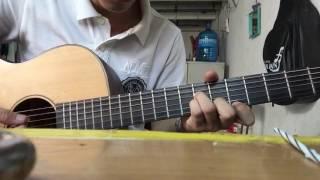Gõ cửa trái tim - guitar