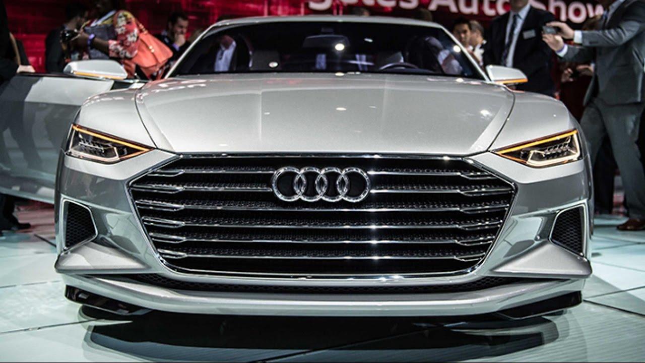 New Audi A9 Concept Live 2017 Amazing Design Exterior