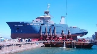 Mammoet Salvage - Cabo de Hornos refloat operation