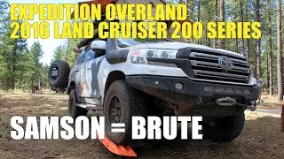 "Expedition Overland 2016 Toyota Land Cruiser ""Samson"" = Brute"