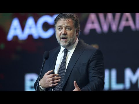 Russell Crowe jokes about 'sodomising' female actor – audio