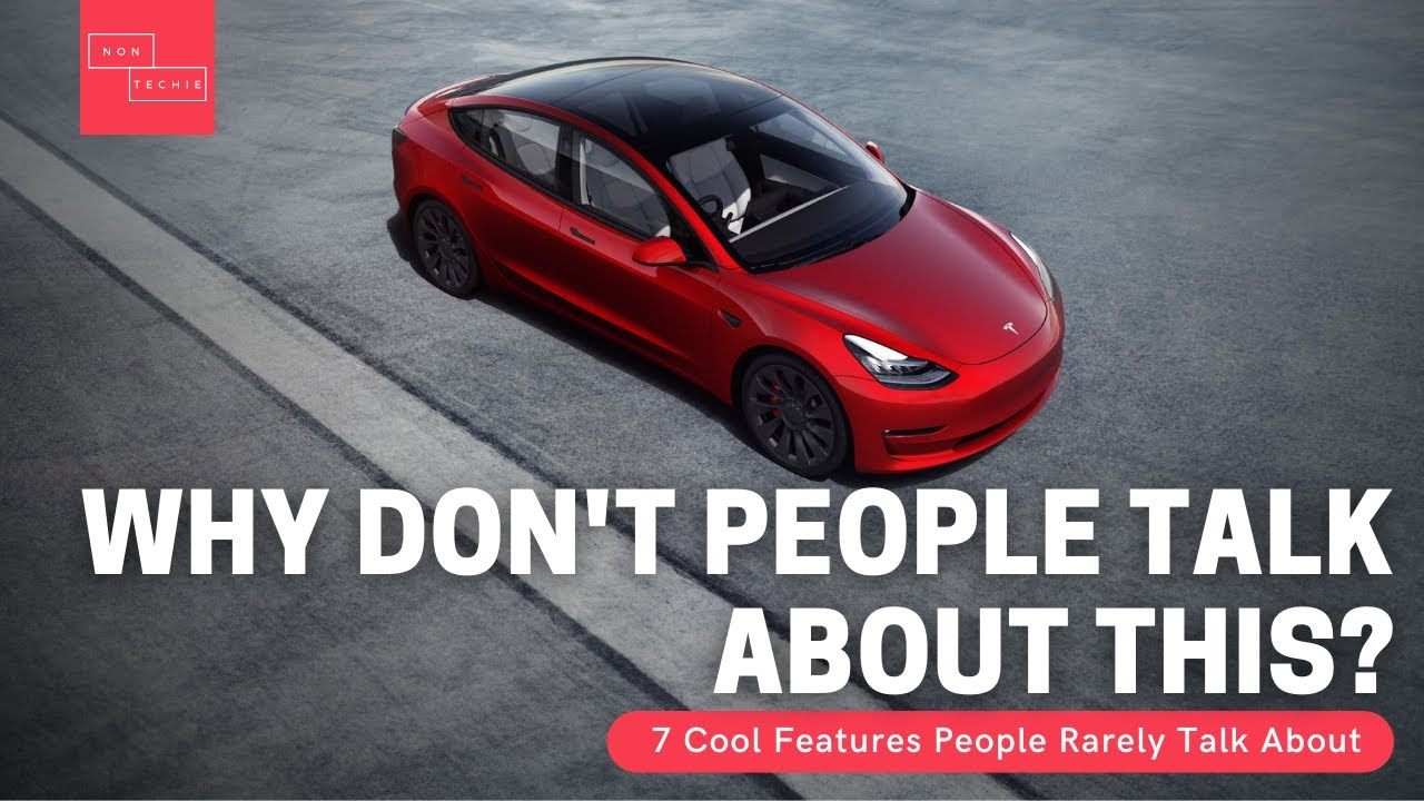 Tesla – Cool Features That People Rarely Talk About