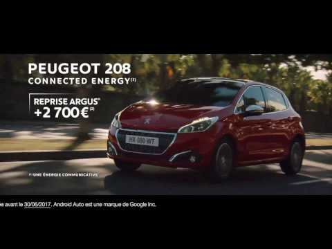 Pub Peugeot 208 « Connected Energy » (2017)